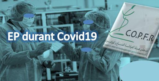 COPFR : EP durant COVID-19