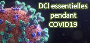 DCI essentielles pendant COVID19