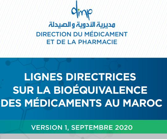 Lignes directrices sur la bio-équivalence au Maroc