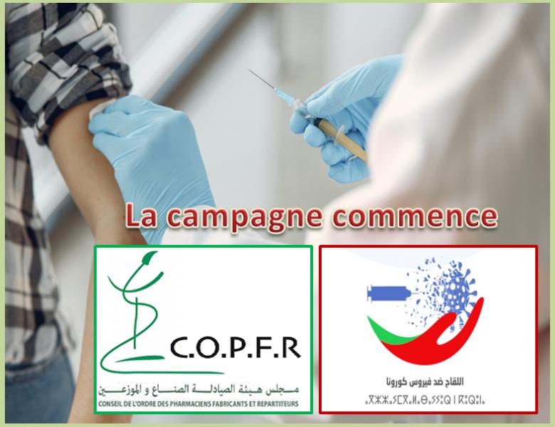 Vaccin Covid19 pour les Pharmaciens des EP : La campagne commence